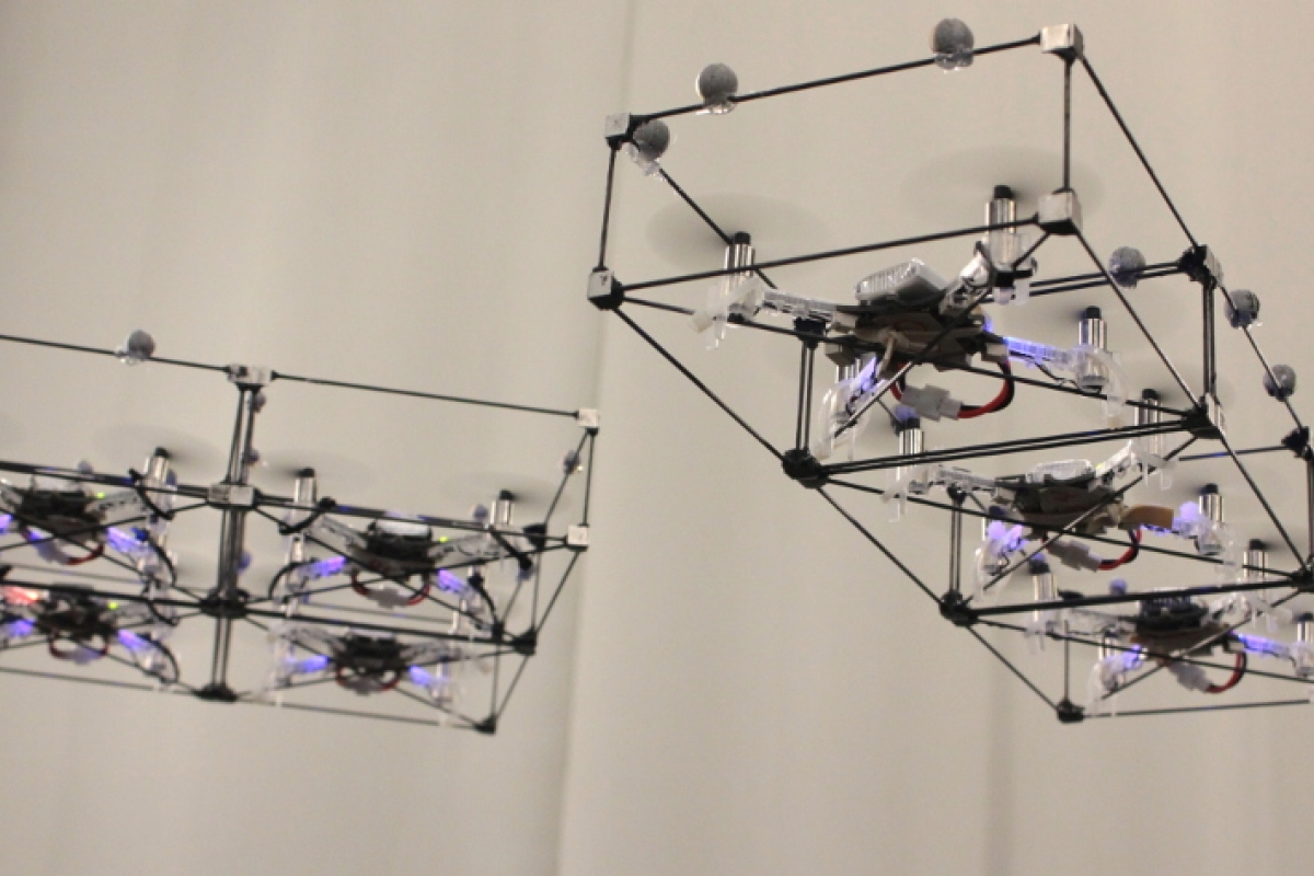 ModQuad: Assembling Structures in Midair