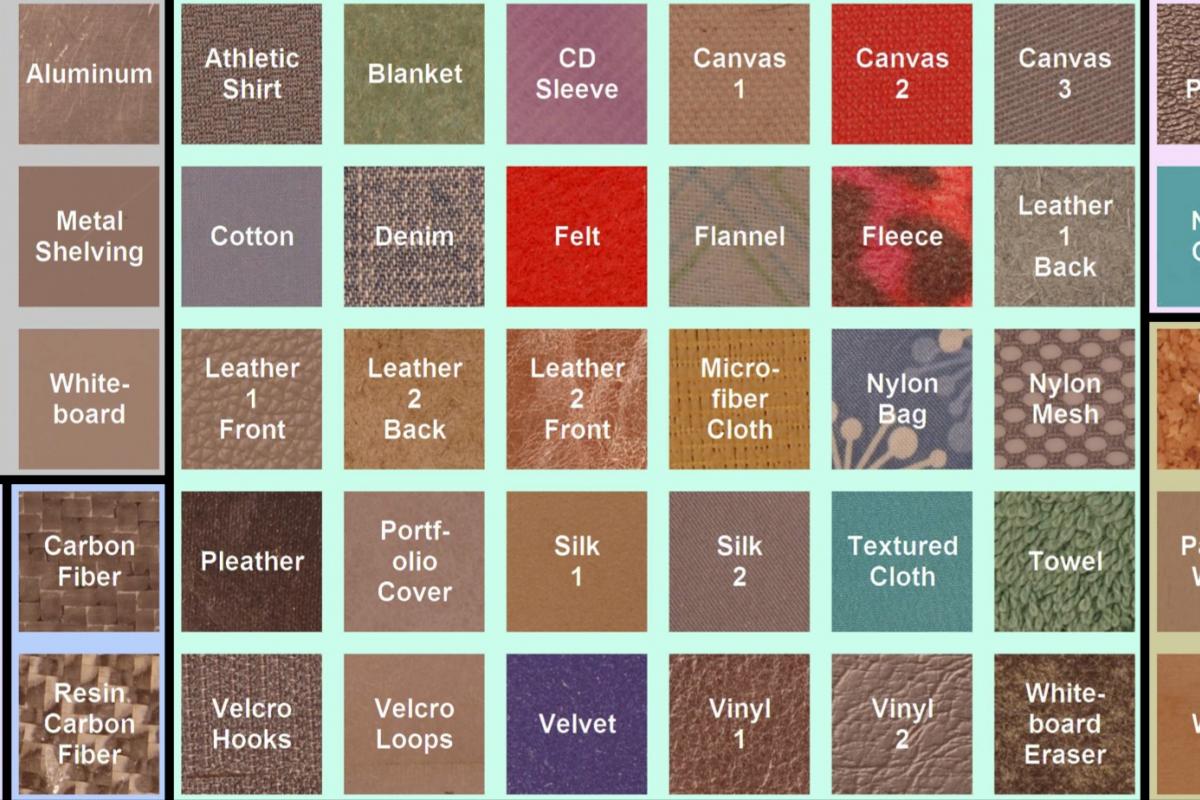 The Penn Haptic Texture Toolkit