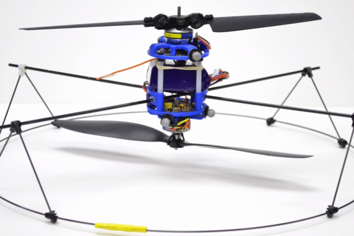 Underactuated Rotor for Simple Micro Air Vehicles